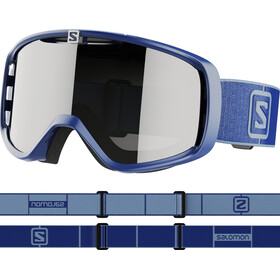Salomon Aksium Access Goggles navy blue/silver